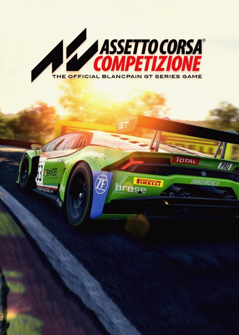 Assetto Corsa Competizione's cover